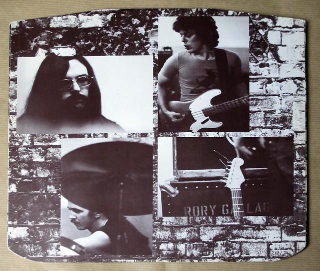 "RORY GALLAGHER CALLING CARD original Uk england 12"" LP VINYL"