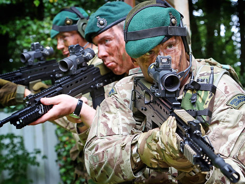royal marines from 40 40 commando conduct a low level gree