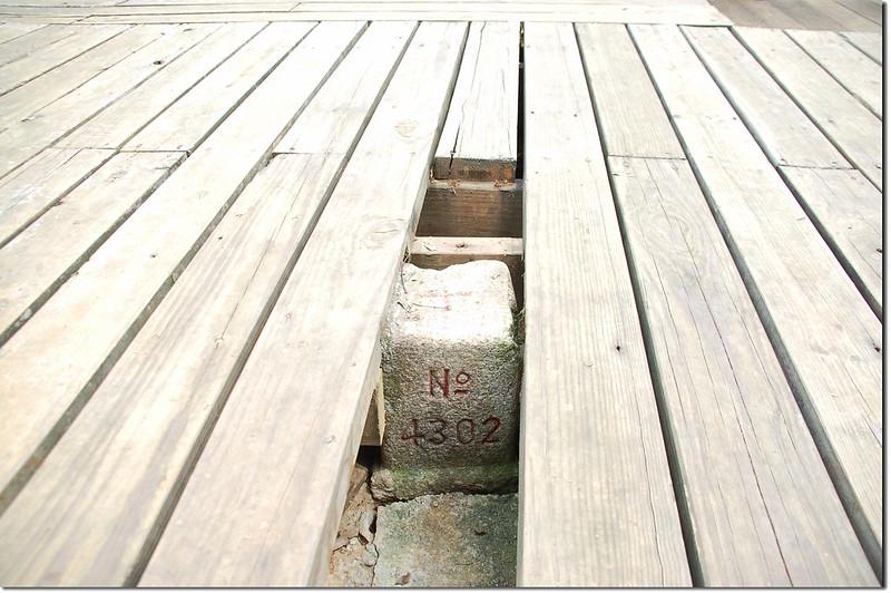 花蓮鯉魚山三等三角點(#4302 Elev. 601 m) 1