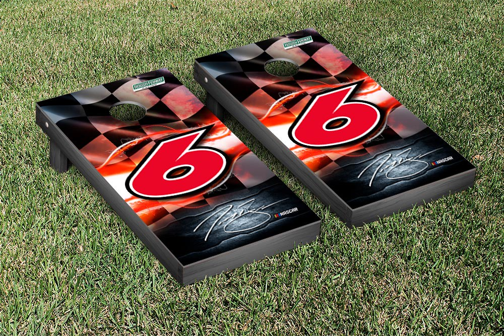 TREVOR BAYNE #6 CORNHOLE GAME SET NIGHTLIGHTS VERSION