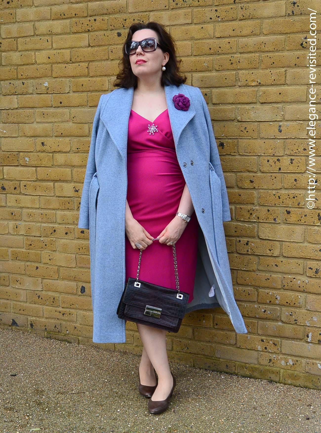 retro dress over 40