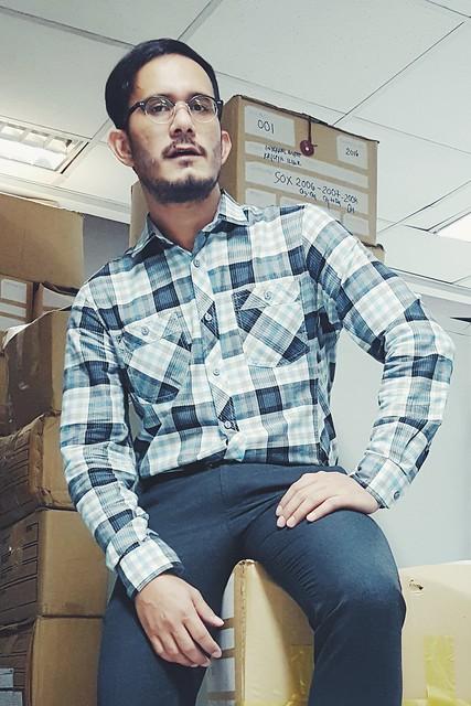 halfwhiteboy checkered shirt 04