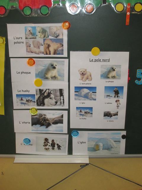 Projet pôle nord en maternelle