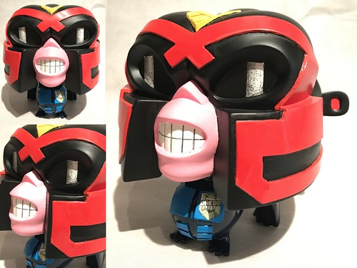 Alex Vaughan Judge Dredd - Chaos Kong Custom