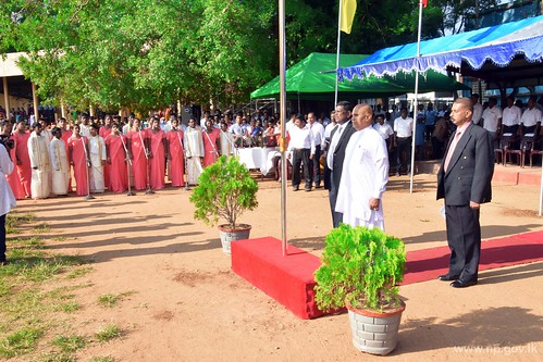 69th Independence Day celebration held in Vavuniya