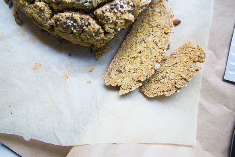 gluten free seedy soda bread