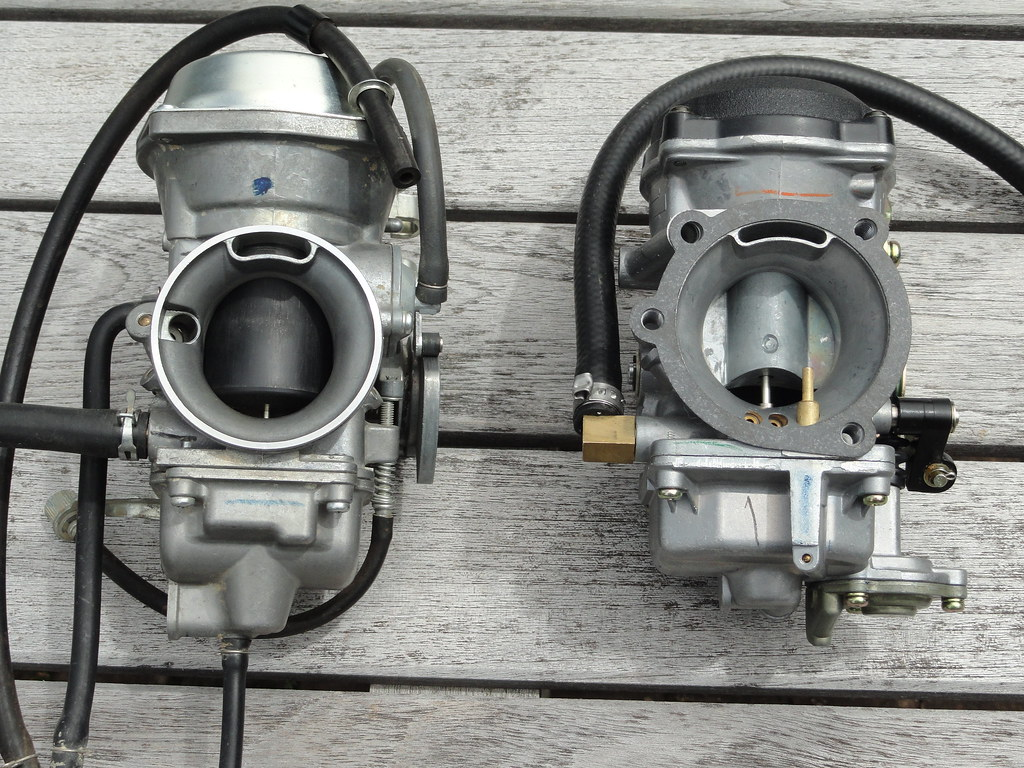 Repurposing The Harley Cv40 Carb Adventure Rider Keihin Carburetor Diagram In Addition Honda Cv On I Machined Off Spigot Barb And Turned A 48 Mm Adapter Lathe Here It Is Before Being Attached To W That