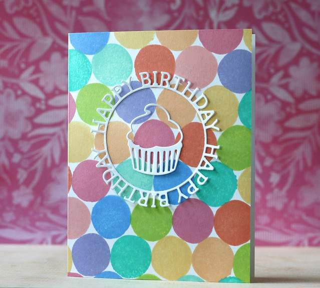 SSS-Birthday Circle die