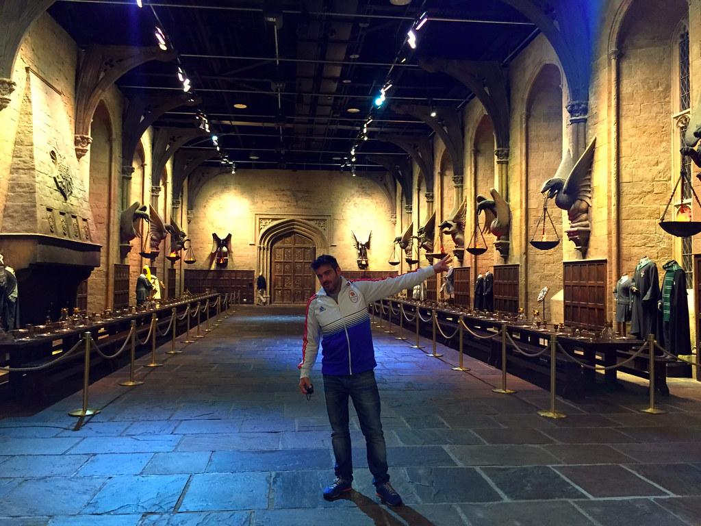 Harry potter studios en londres for Comedor harry potter