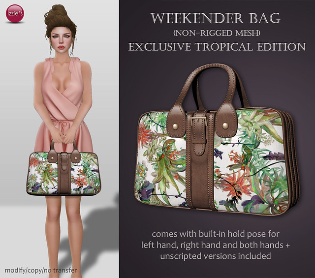 Weekender Bag Exclusive Tropical Edition