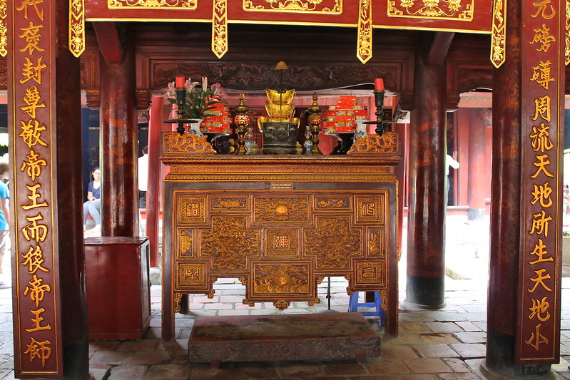 Bai Duong - House of Ceremonies, Văn Miếu - Temple of Literature, Hà Nội