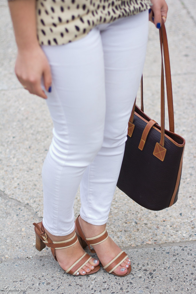 leopard tunic, white denim, leather tote.jpg