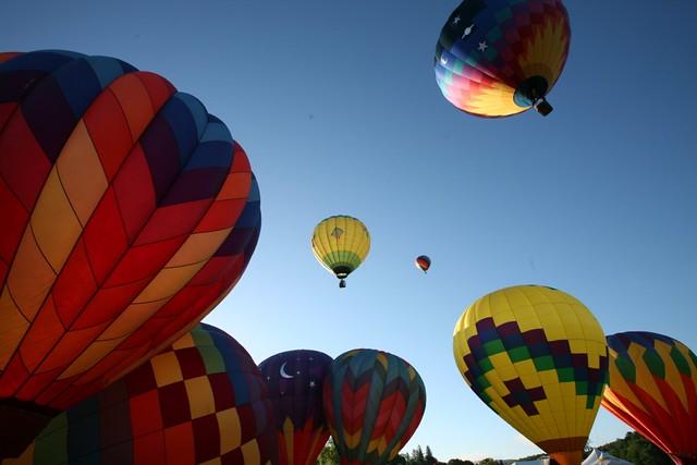 2015 Quechee Balloon Festival