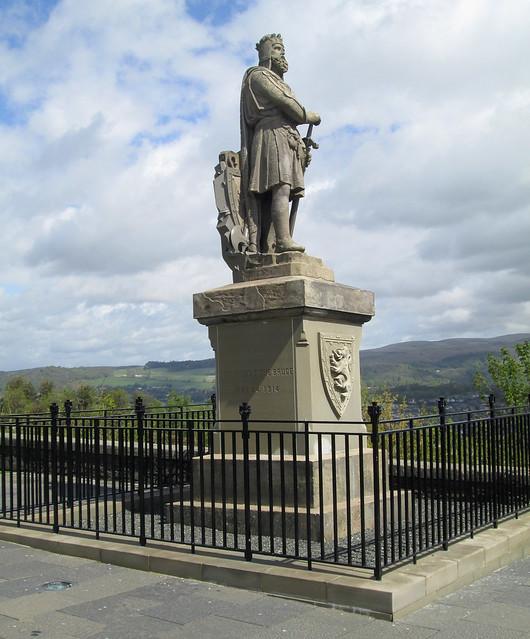Statue of Bruce, Stirling Castle EsplanadeStirling Castle 6 Bruce