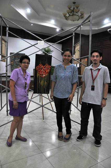 Laoag at 50 Zero Waste art exhibit
