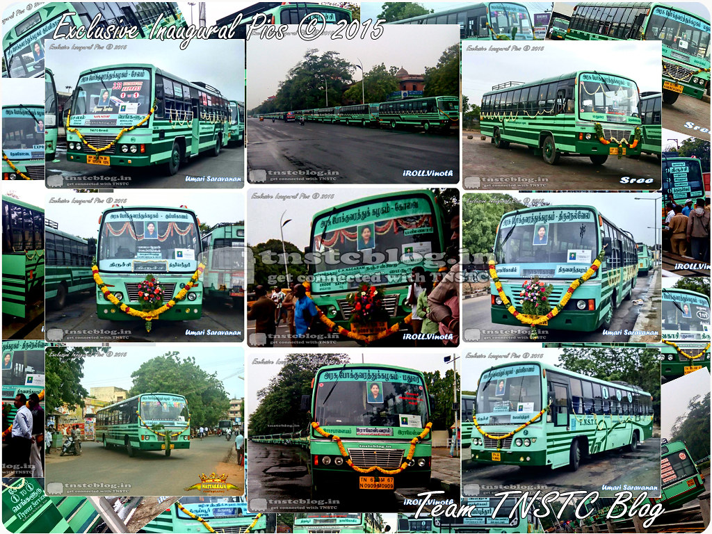 TNSTC Inaugural Collage Thanks to the entire team.