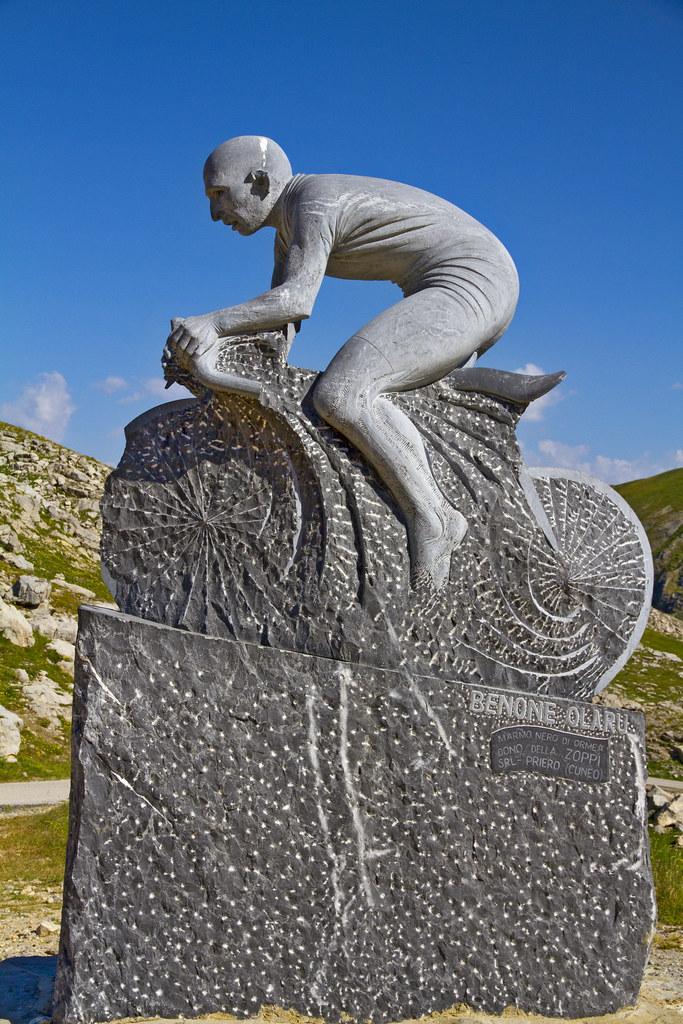 Monumento a Marco Pantani | Colle Fauniera ( o Colle dei Mor… | Flickr