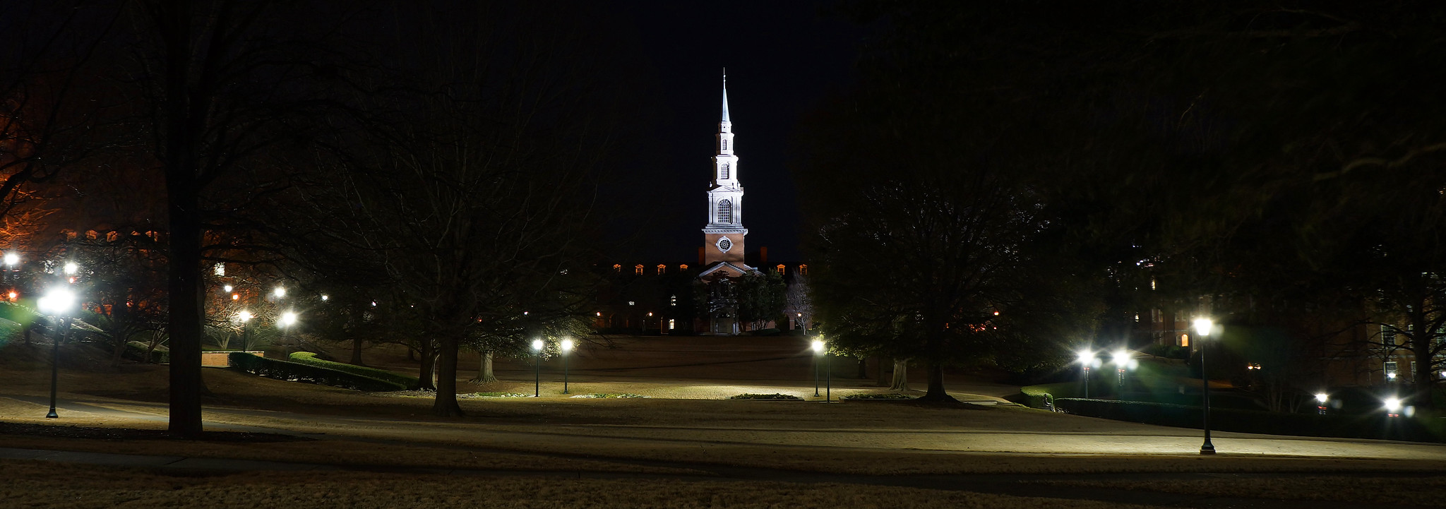 Samford University at Night 4
