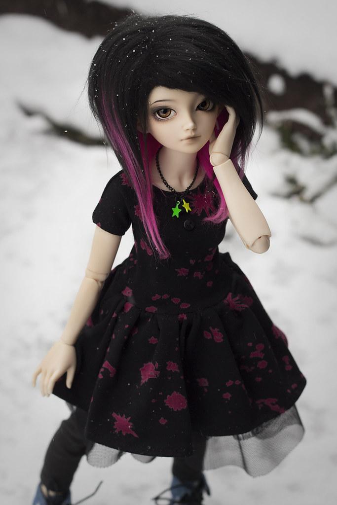 2 Blood Splatter Dress
