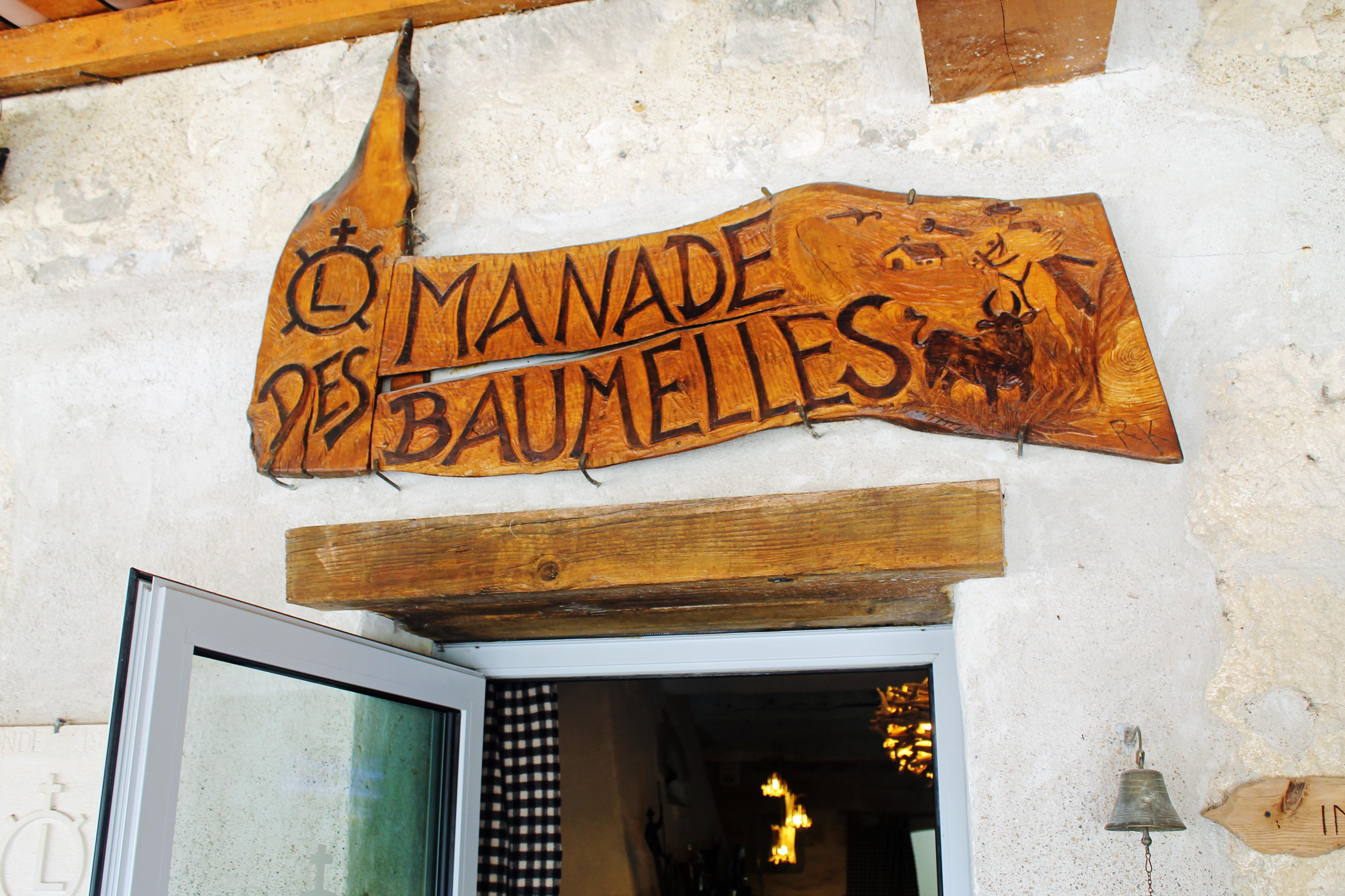 Visita à Manade des Baumelles