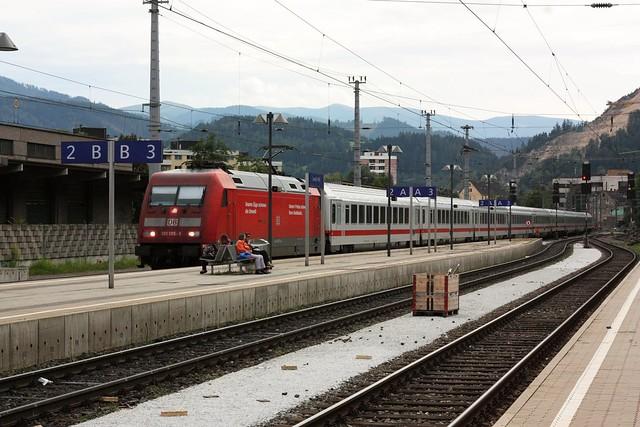 [155/365] EuroCity nach Graz | Leoben Hbf