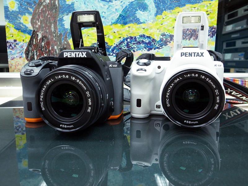 PENTAX K-S2 白+黑橘雙色開箱及新鏡頭試用心得