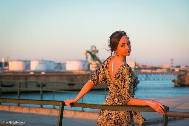 Perfect Sunset Portrait