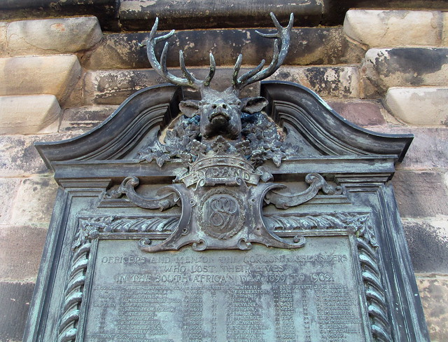 Gordon Highlanders Memorial Detail