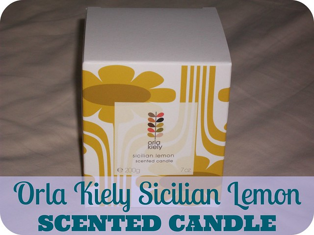 Orla Kiely Sicilian Lemon Scented Candle Review