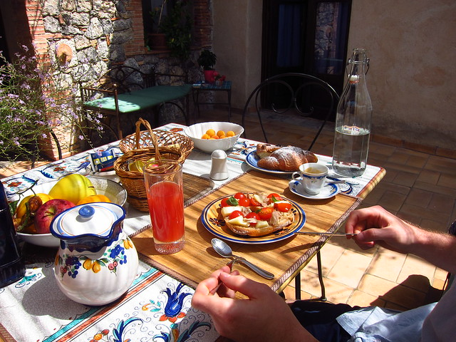 Breakfast at La Torreta