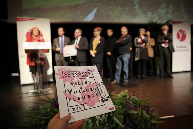 Cérémonie de remise des prix des villes & villages fleuris 2016