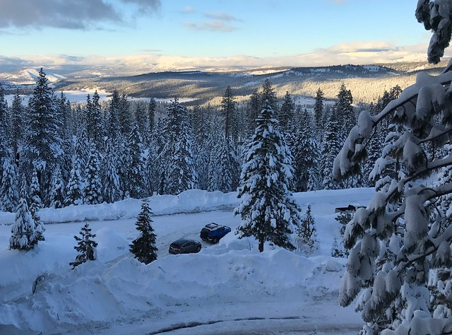 View from the room at the Northstar Ritz Carlton