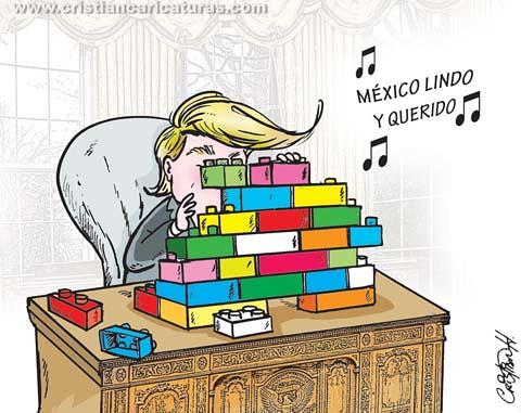 Trump bloques