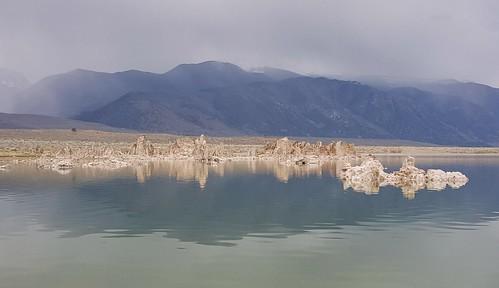 Tufas in Mono Lake