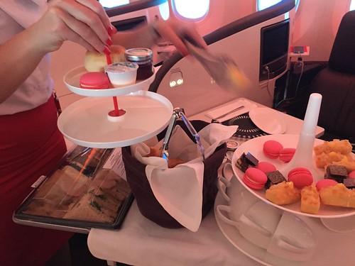 Virgin Atlantic inaugural flight detroit