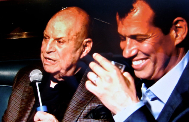 frequent diner Don Rickles with Craig