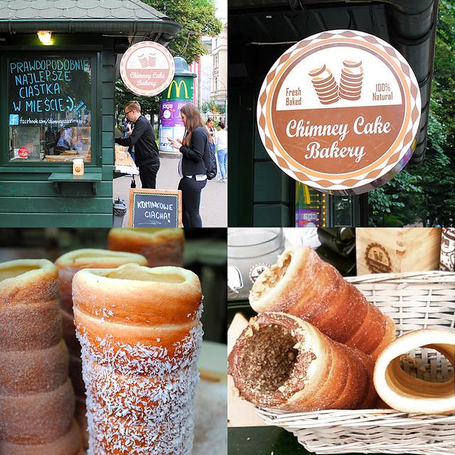 Chimney Cake Bakery, Cracow