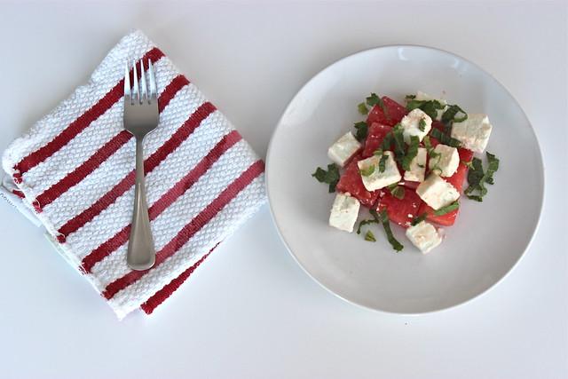 Watermelon & Feta Salad