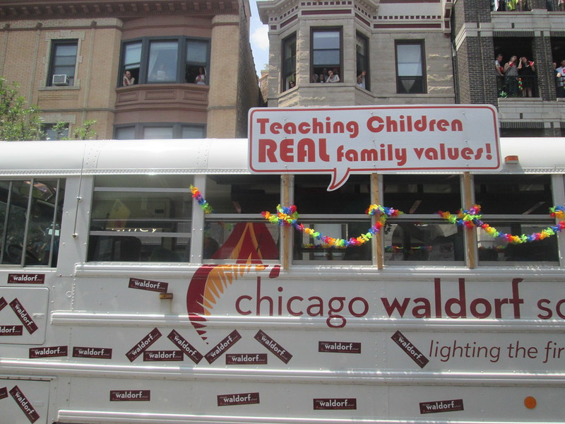 "Chicago Waldorf School  - ""Teaching Children REAL family values"