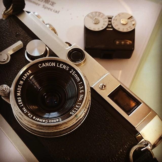 Canon 25mm f3.5 LTM 佳能的topogon