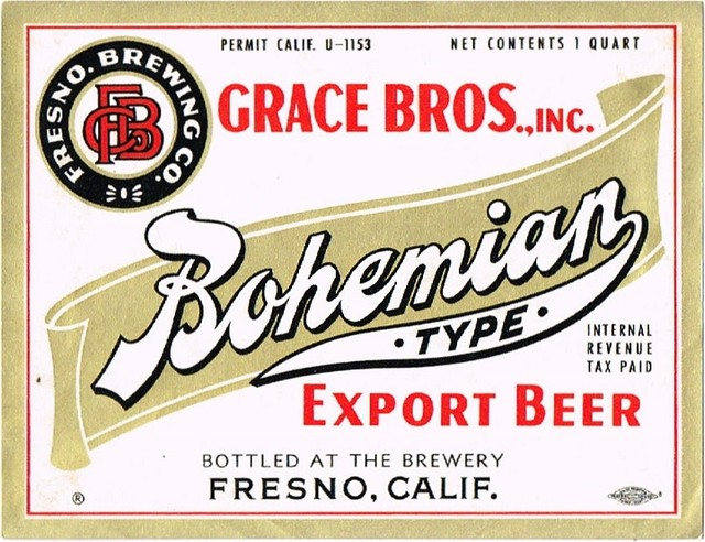 Bohemian-Export-Beer-Labels-Fresno-Brewing-Co--Grace-Bros