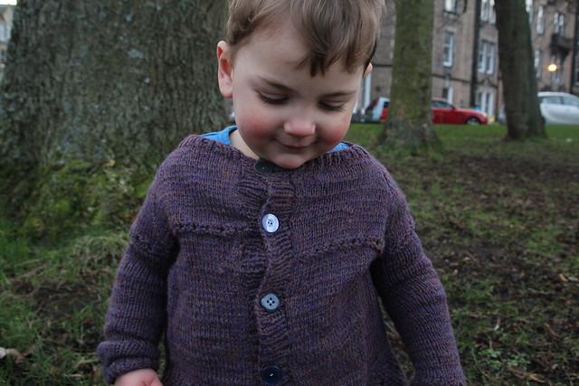 Elliot baby cardigan
