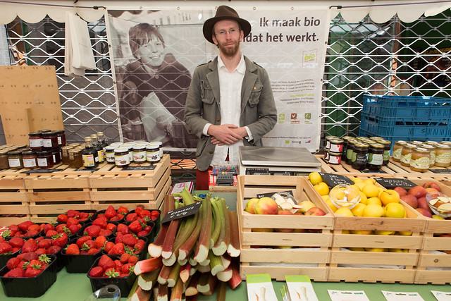 Biomarkt 2015 in de Diestsestraat