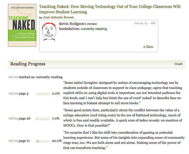 Goodreads Teaching Naked