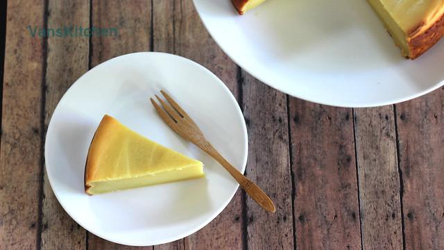 Bánh đậu xanh nướng (Baked mung bean cake)