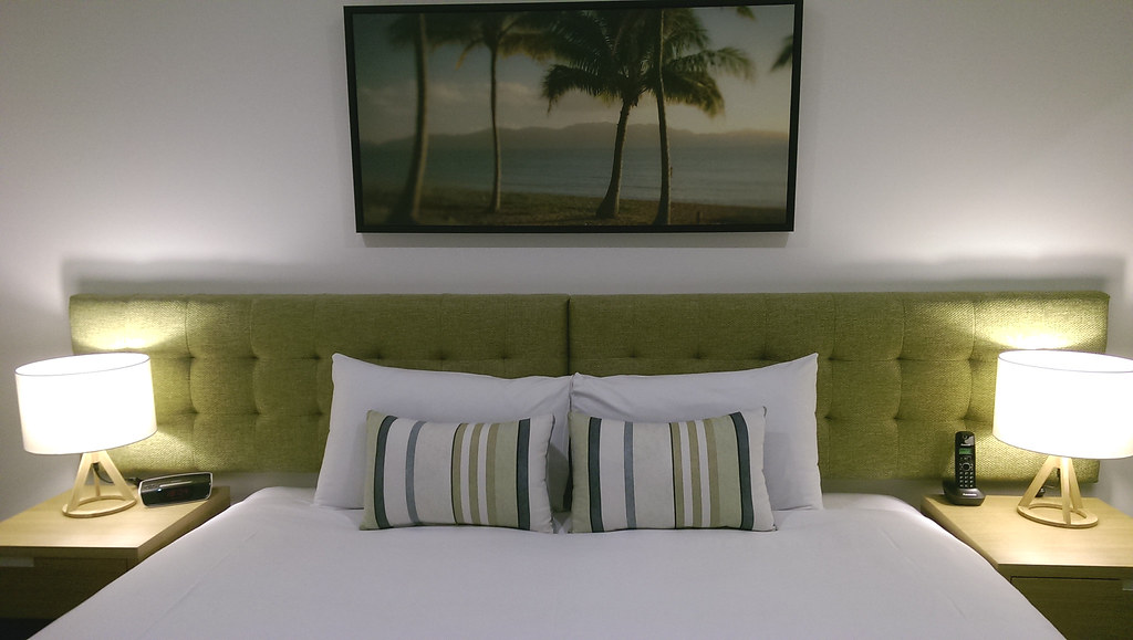 Bedding at Quest Hotel Townsville