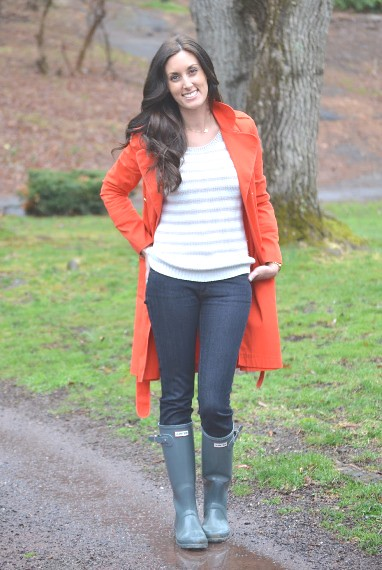 Woman Wearing Grey Hunter Boots Beverly J Wilson Flickr