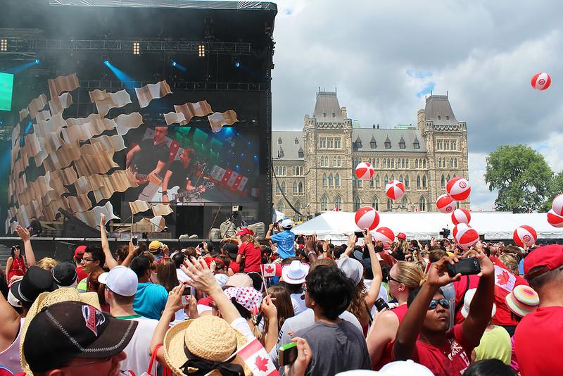Canada party