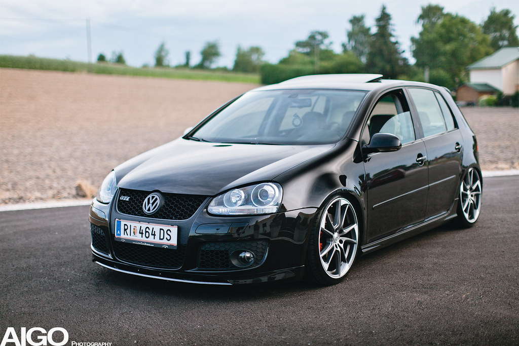 Vw Golf 5 Gti Black Flickr