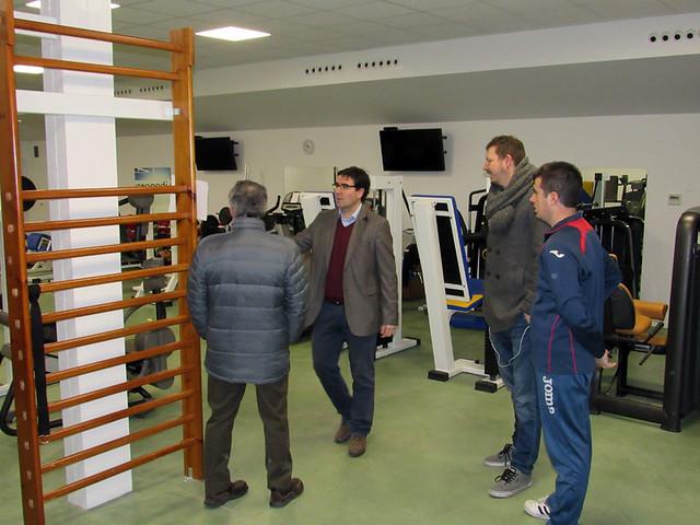 Visita Pedro Sarmento al CD Toledo (Enero de 2017)